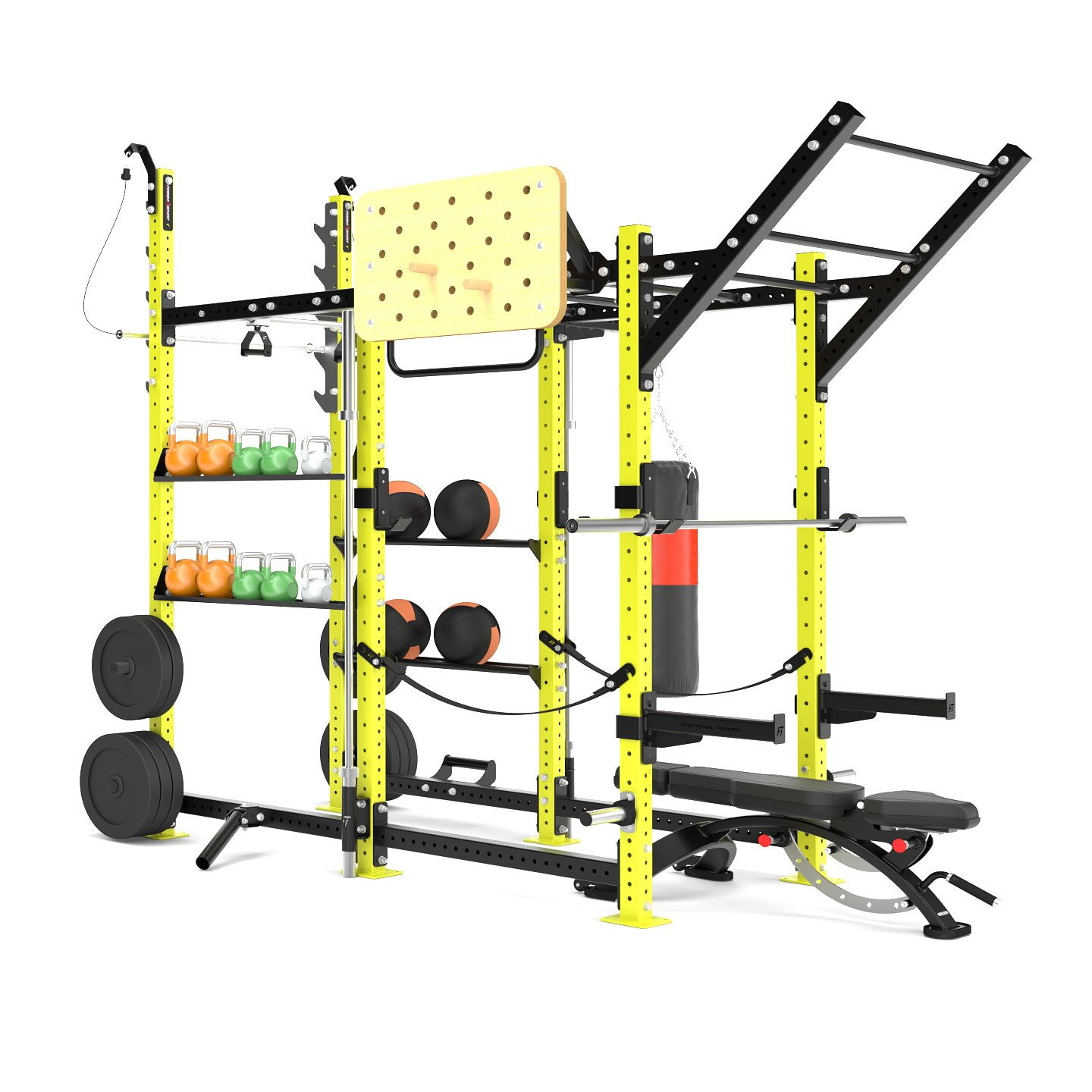 Klietka Power Rack Crossfit MFT-RIG-13