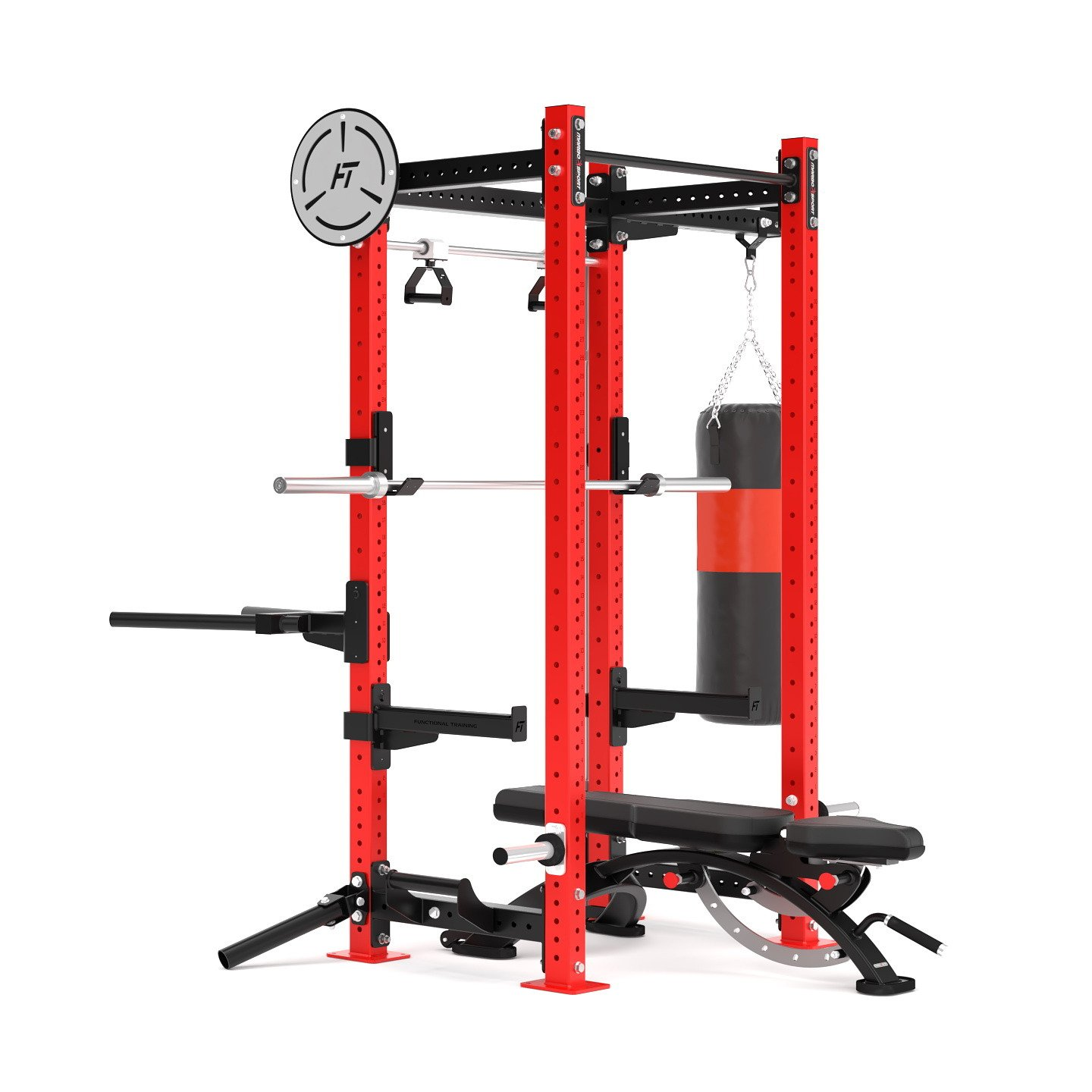 Klietka Power Rack Crossfit MFT-RIG-08 Marbo Sport