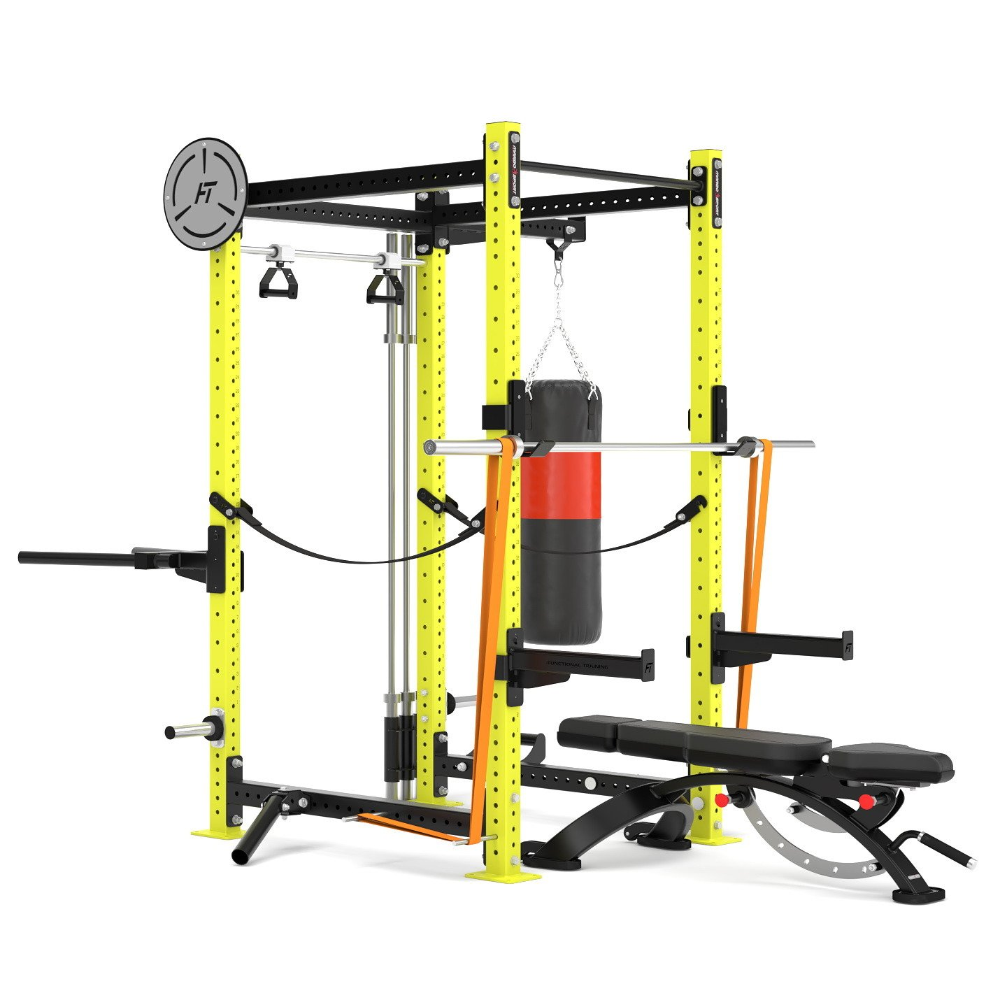 Klietka Power Rack Crossfit MFT-RIG-09 Marbo Sport