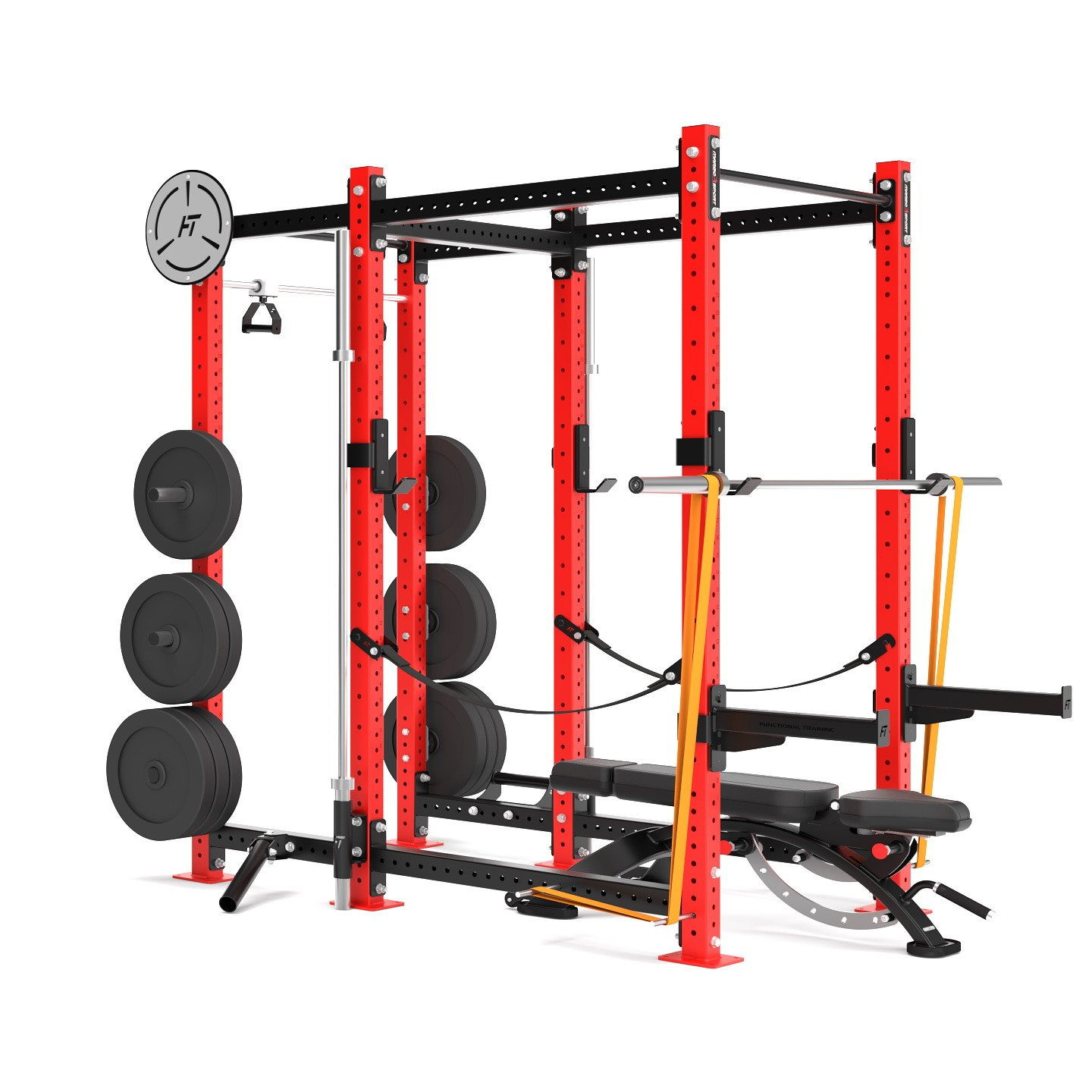 Klietka Power Rack Crossfit MFT-RIG-11 Marbo Sport