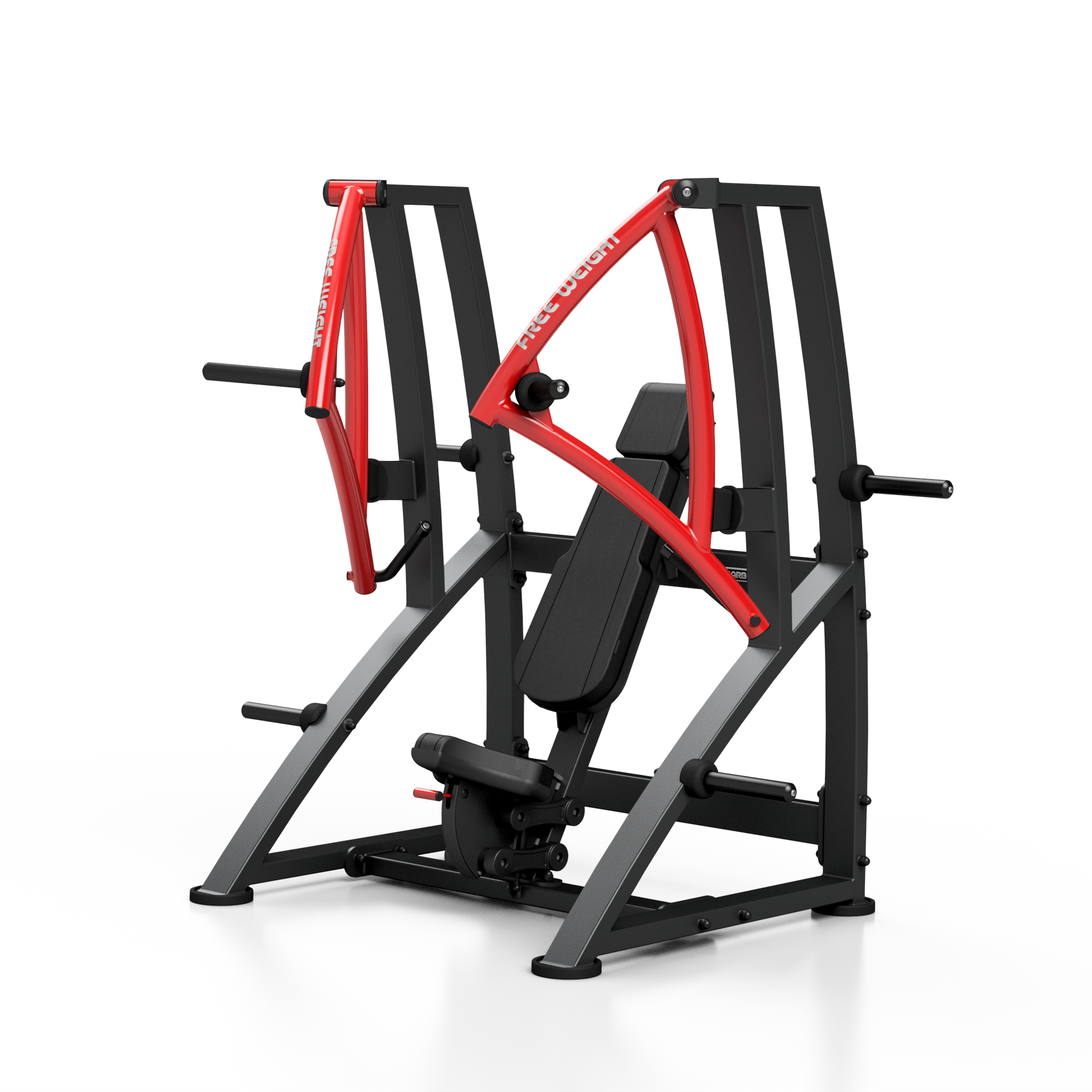 Stroj na prsné svaly Chest Press MF-U016 Marbo Sport